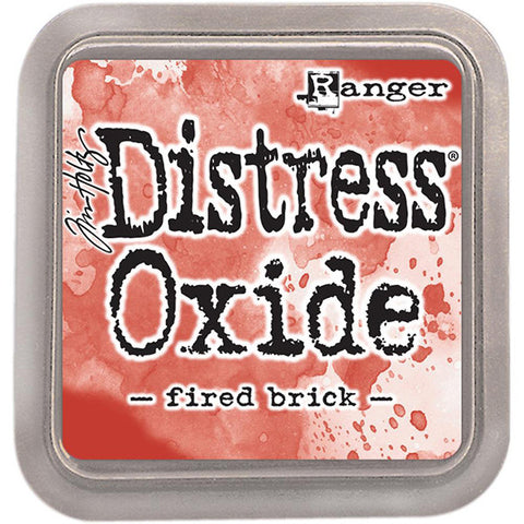 Tim Holtz Distress Oxide Ink - Fired Brick - The Heart Desires