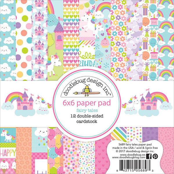 Doodlebug Fairy Tales 6x6 Paper Pad