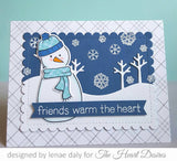 Lawn Fawn Stitched Tree Borders Dies - The Heart Desires