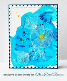 Turquoise Brusho Watercolors Crystals - The Heart Desires