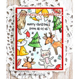 Poppy Stamps Christmas Friends Stamp Set