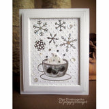 Poppy Stamps Morning Cup Craft Die