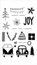 Flora & Fauna Driving to the Holidays Set - The Heart Desires