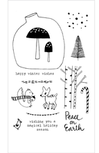 Flora & Fauna Winter Woodland Set