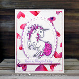 Your Next Stamp Magical Unicorn - The Heart Desires