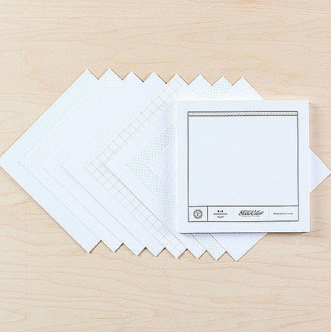 Studio Calico 6X6 Grid Pattern Pad - The Heart Desires