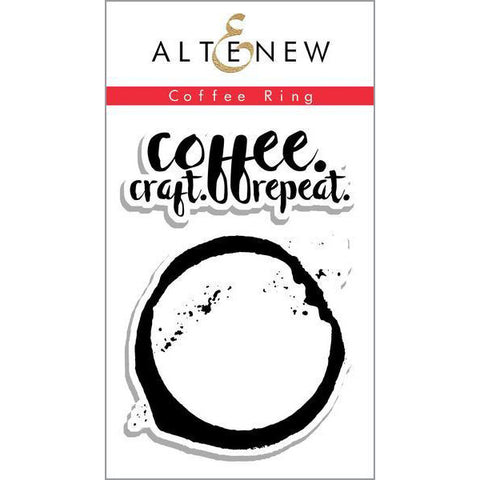 Altenew Coffee Ring - The Heart Desires