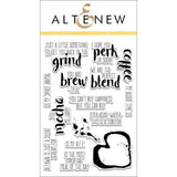 Altenew Coffee Talk - The Heart Desires
