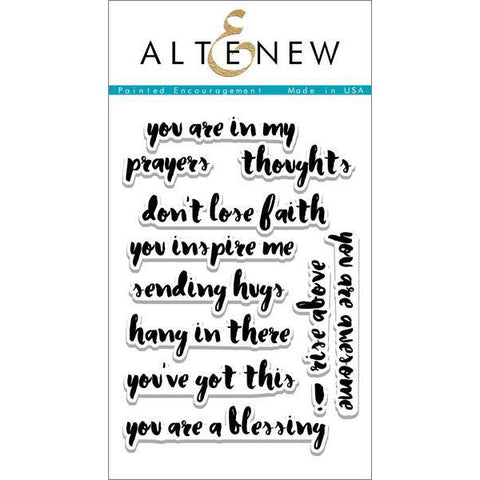 Altenew Painted Encouragement