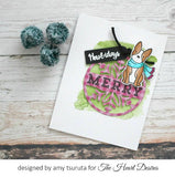 Hero Arts Winter Cheer Tag Set by Lia Griffith - The Heart Desires
