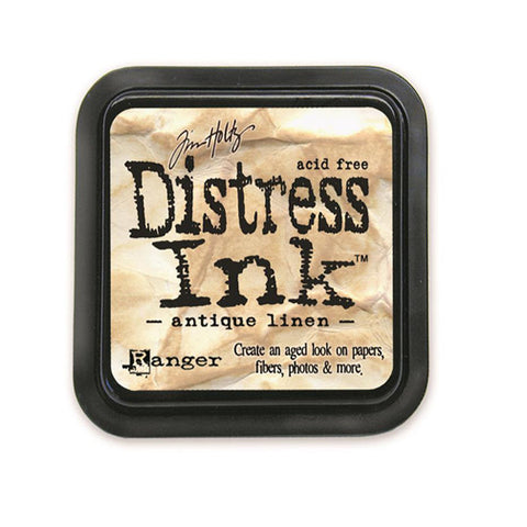 Tim Holtz Distress Ink - Antique Linen - The Heart Desires
