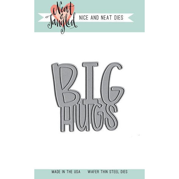 Neat & Tangled Big Hugs - Nice and Neat Dies - The Heart Desires