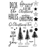 Concord & 9th O Christmas Tree Stamp Set - The Heart Desires