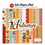 Autumn 6x6 Paper Pad - The Heart Desires