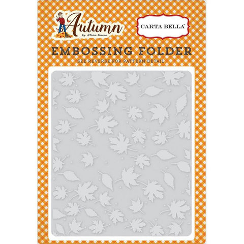 Crisp Autumn Embossing Folder - The Heart Desires