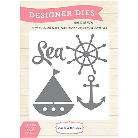 Sea, Ship, Anchor Die Set - The Heart Desires