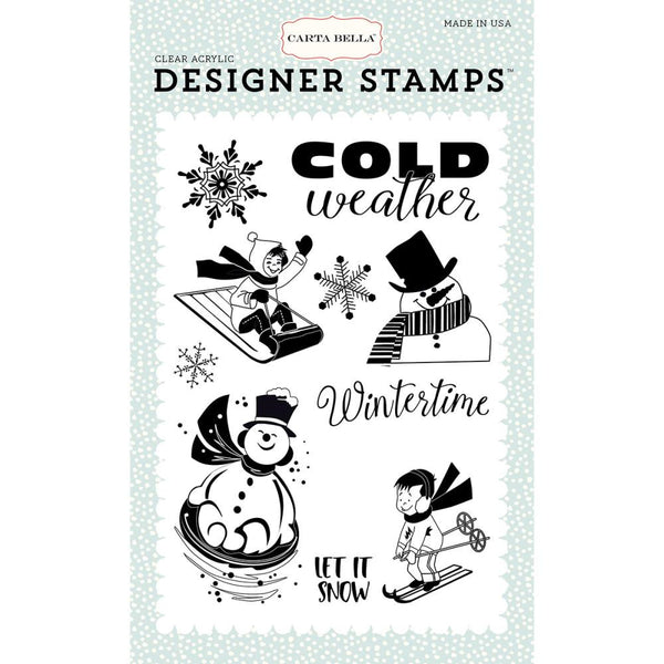 Carta Bella Wintertime Stamp Set