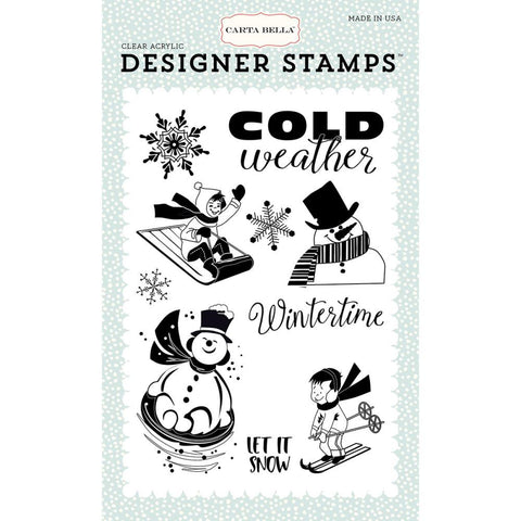Carta Bella Wintertime Stamp Set - The Heart Desires