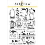 Altenew Coffee Love - The Heart Desires