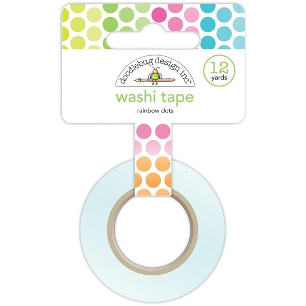 Rainbow Dot Washi - The Heart Desires