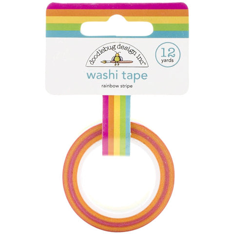 Rainbow Stripe Washi - The Heart Desires