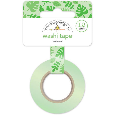 Rainforest Washi Tape - The Heart Desires
