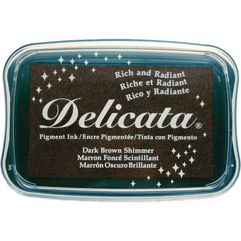 Delicata Dark Brown Shimmer - The Heart Desires