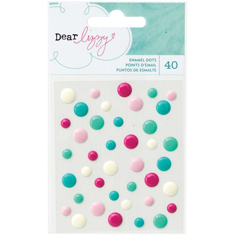Serendipity Enamel Dots - The Heart Desires