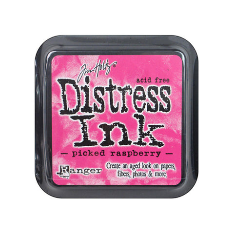 Tim Holtz Distress Ink - Picked Raspberry - The Heart Desires