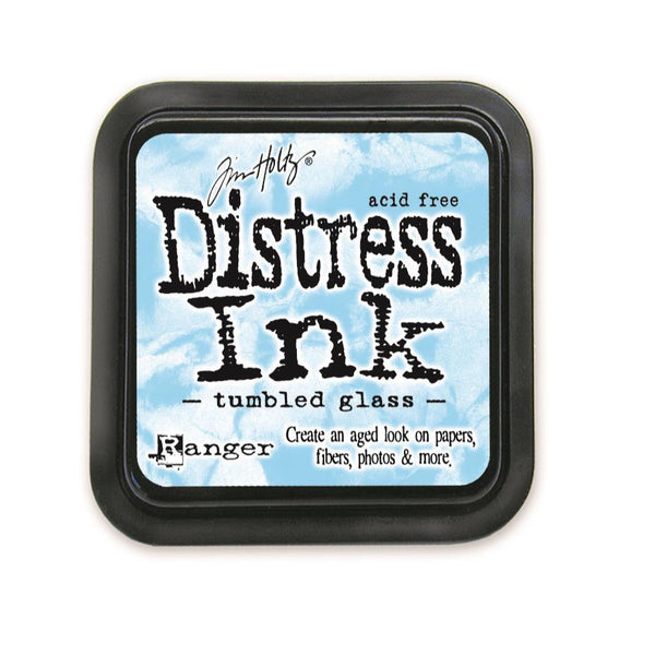Tim Holtz Distress Ink - Tumbled Glass - The Heart Desires