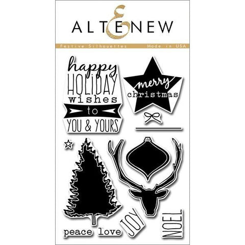 Altenew Festive Silhouettes - The Heart Desires