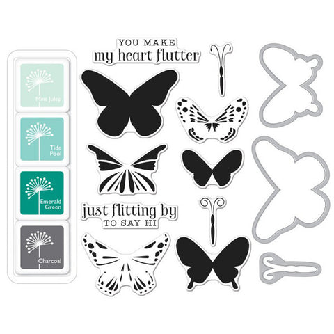 Hero Arts Butterflies Bundle - The Heart Desires