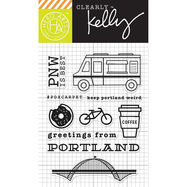 Hero Arts Clear Stamps - Kelly's Portland - The Heart Desires