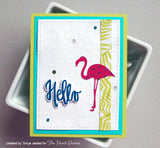 Neat & Tangled Painted Hello - The Heart Desires