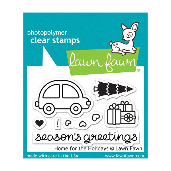 Lawn Fawn Home for the Holidays - The Heart Desires