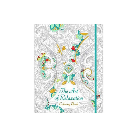 The Art of Relaxation Coloring Book - The Heart Desires