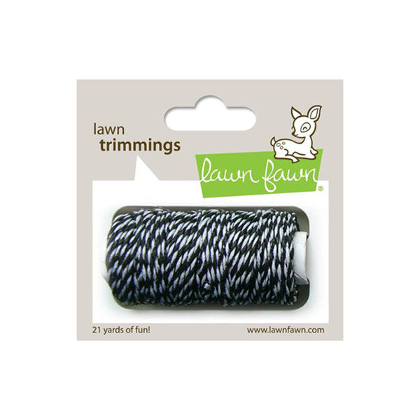 Lawn Fawn Trimming Hemp Cord Black