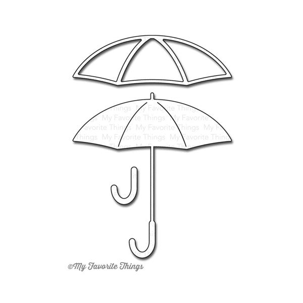 My Favorite Things Layered Umbrella Die - The Heart Desires