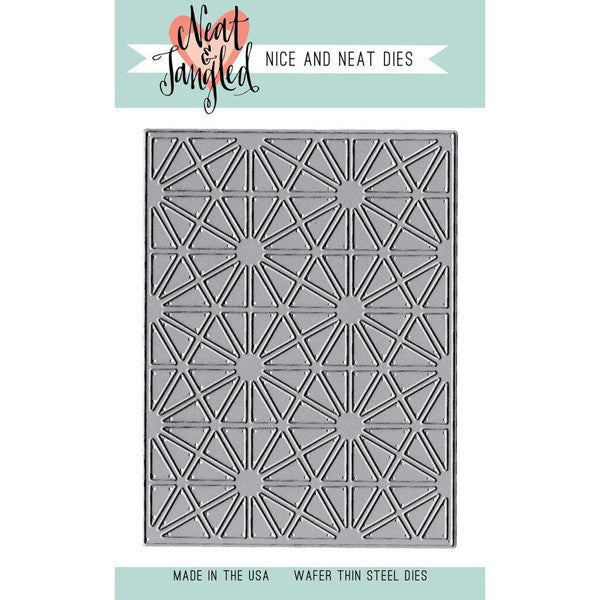 Neat & Tangled Nice and Neat Dies Hexastar Cover Plate - The Heart Desires
