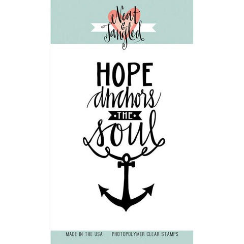 Neat & Tangled Hope Anchors - The Heart Desires
