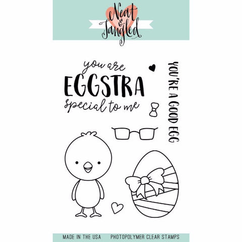 Neat & Tangled Eggstra Special Stamp Set - The Heart Desires