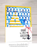 Carta Bella Anchors Aweigh Stencil 6x6 - The Heart Desires