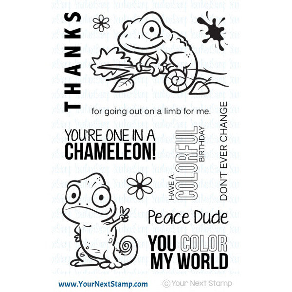 Your Next Stamp One ina Chameleon