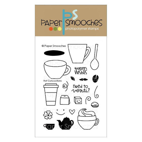 Paper Smooches Hot Concoctions - The Heart Desires