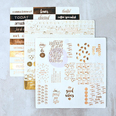 Foil Washi Stickers