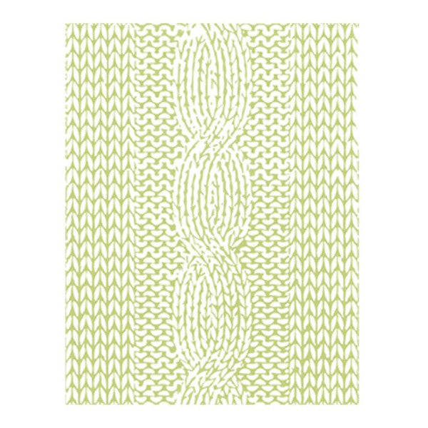 Richard Garay Knit Pattern Embossing Folder