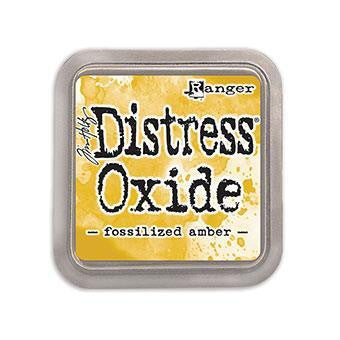 Tim Holtz Distress Oxide Ink - Fossilized Amber - The Heart Desires