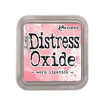 Tim Holtz Distress Oxide Ink - Worn Lipstick - The Heart Desires