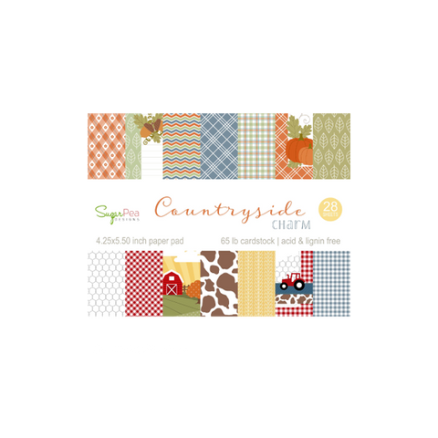 SugarPea Countryside Charm Pattern Paper - The Heart Desires