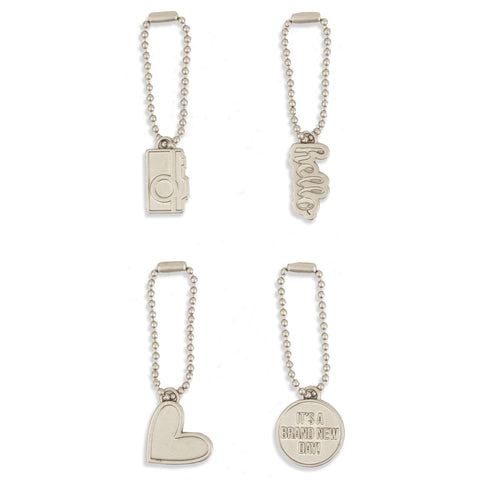 Carpe Diem Metal Charms - The Heart Desires